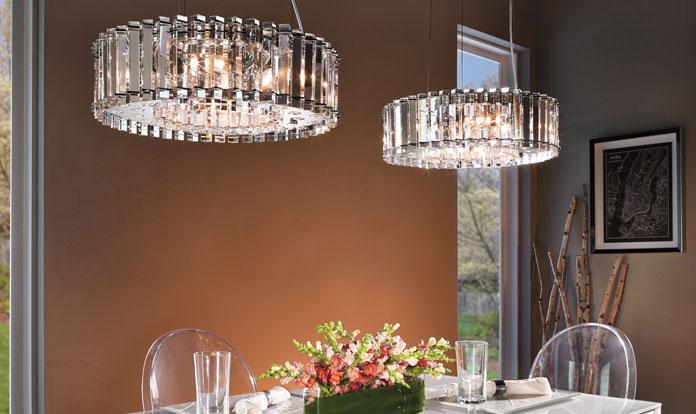 Kichler Crystal Skye chandelier