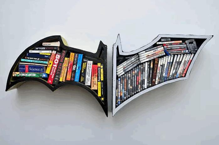 batman bookcase found on dose